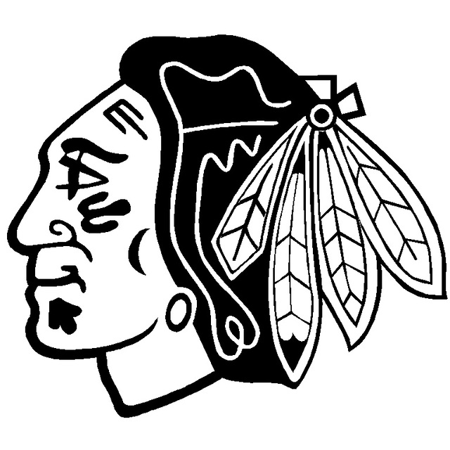 Free Coloring Pages Of Chicago Cubs Logo Chicago Blackhawks Coloring Pages