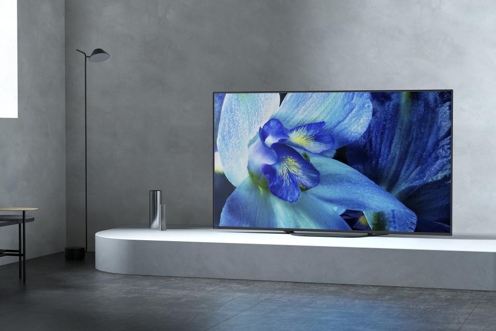 Jau veikalos pirmie 2019. gada Sony 4K HDR OLED televizori no AG8  sērijas