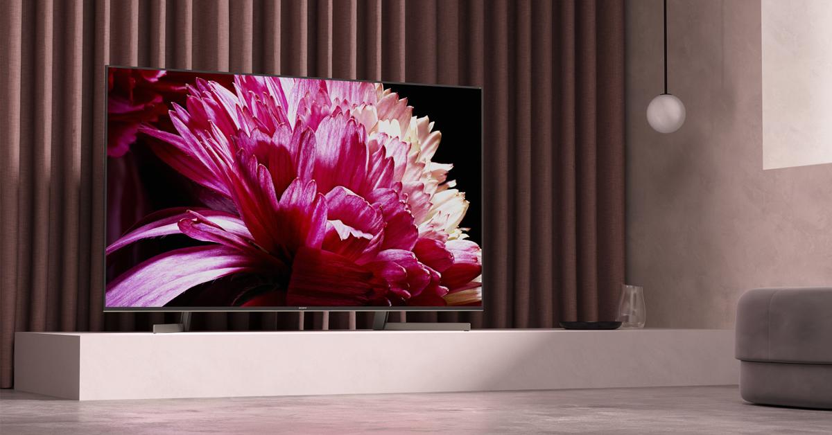 Sony jaunie XG95 4K HDR pilna spektra LED televizori jau drīz pārdošanā